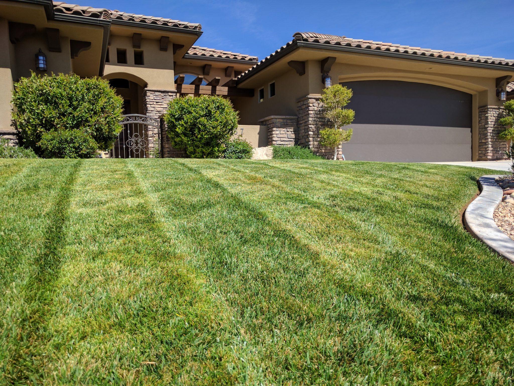 lawn care washington utah